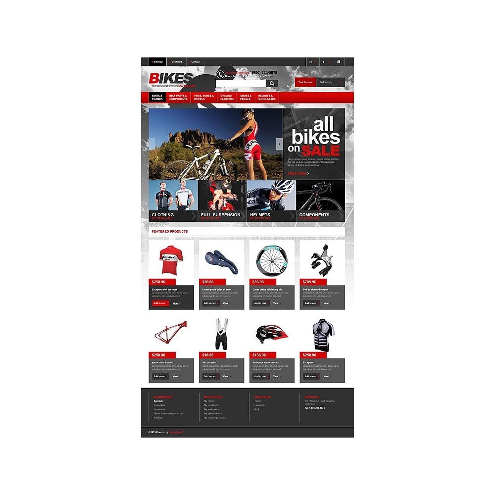 theme - Спорт и Путешествия - Responsive Bikes Store - 11