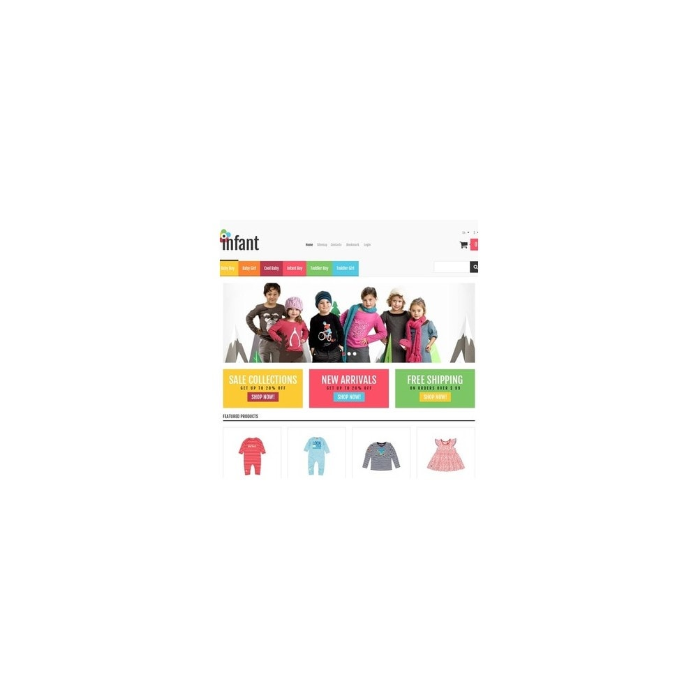 theme - Mode & Chaussures - Responsive Infant Shop - 3