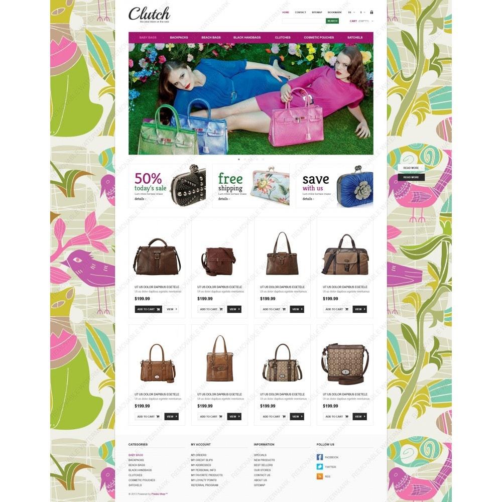theme - Мода и обувь - Responsive Bags Store - 6