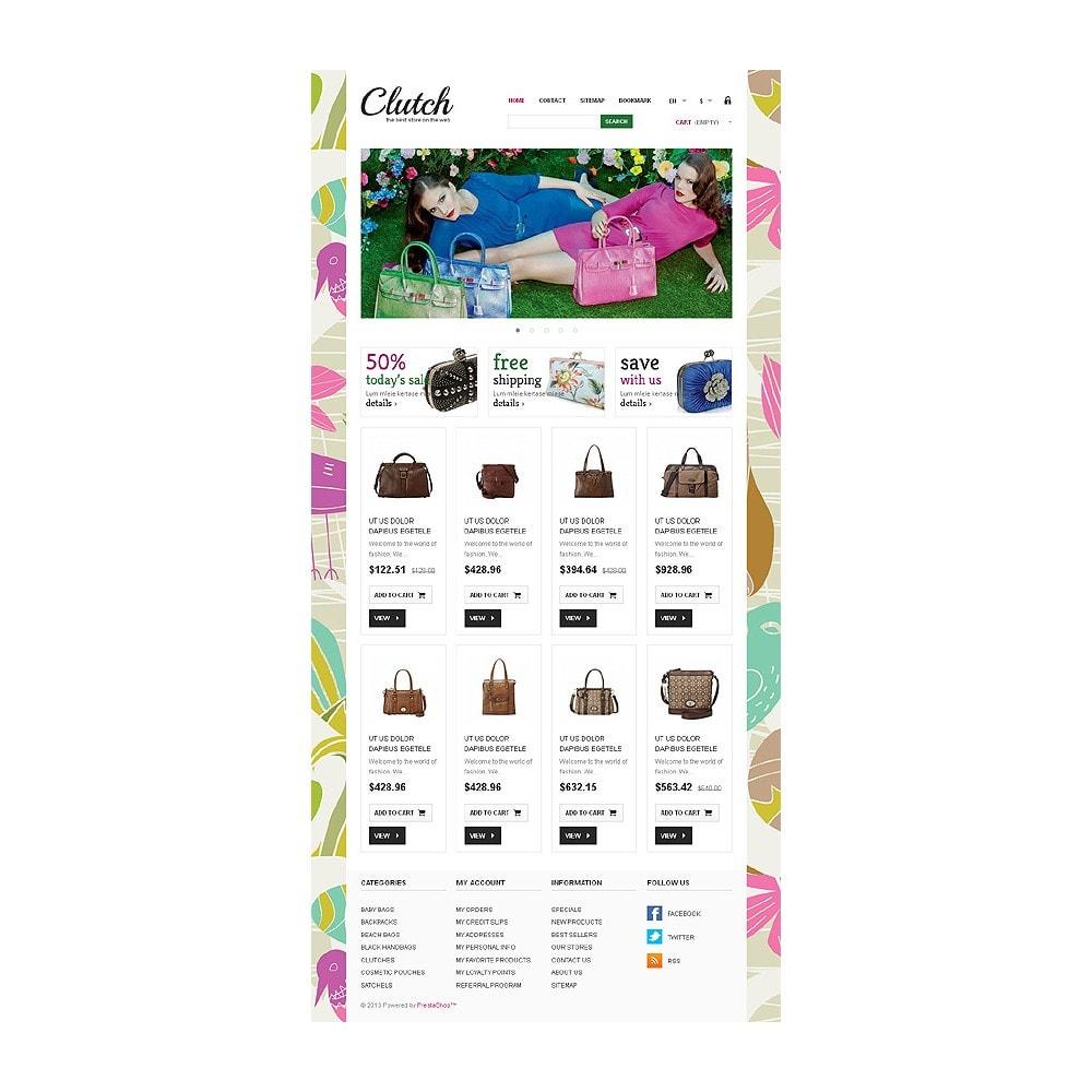 theme - Мода и обувь - Responsive Bags Store - 8