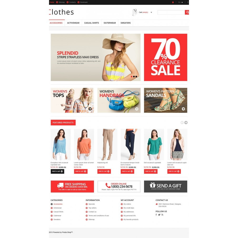 theme - Moda & Obuwie - Responsive Clothing Store - 2