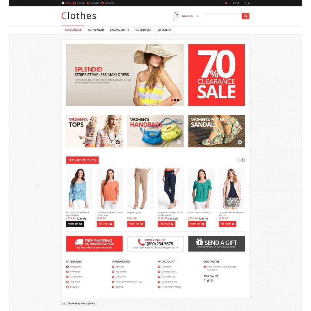 theme - Moda & Obuwie - Responsive Clothing Store - 5