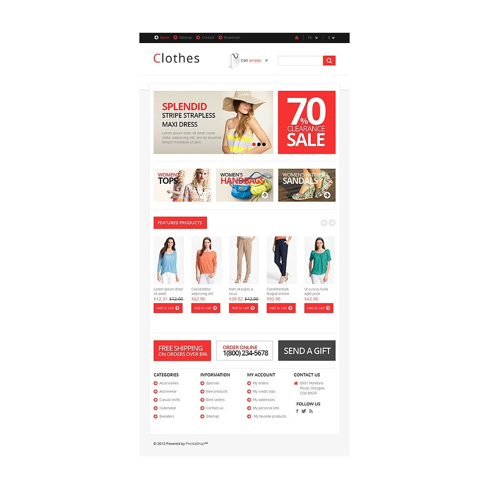 theme - Moda & Obuwie - Responsive Clothing Store - 8