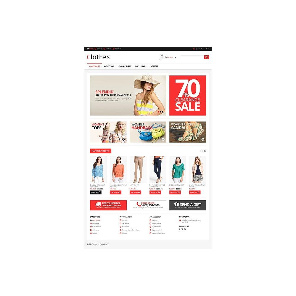 theme - Moda & Obuwie - Responsive Clothing Store - 11