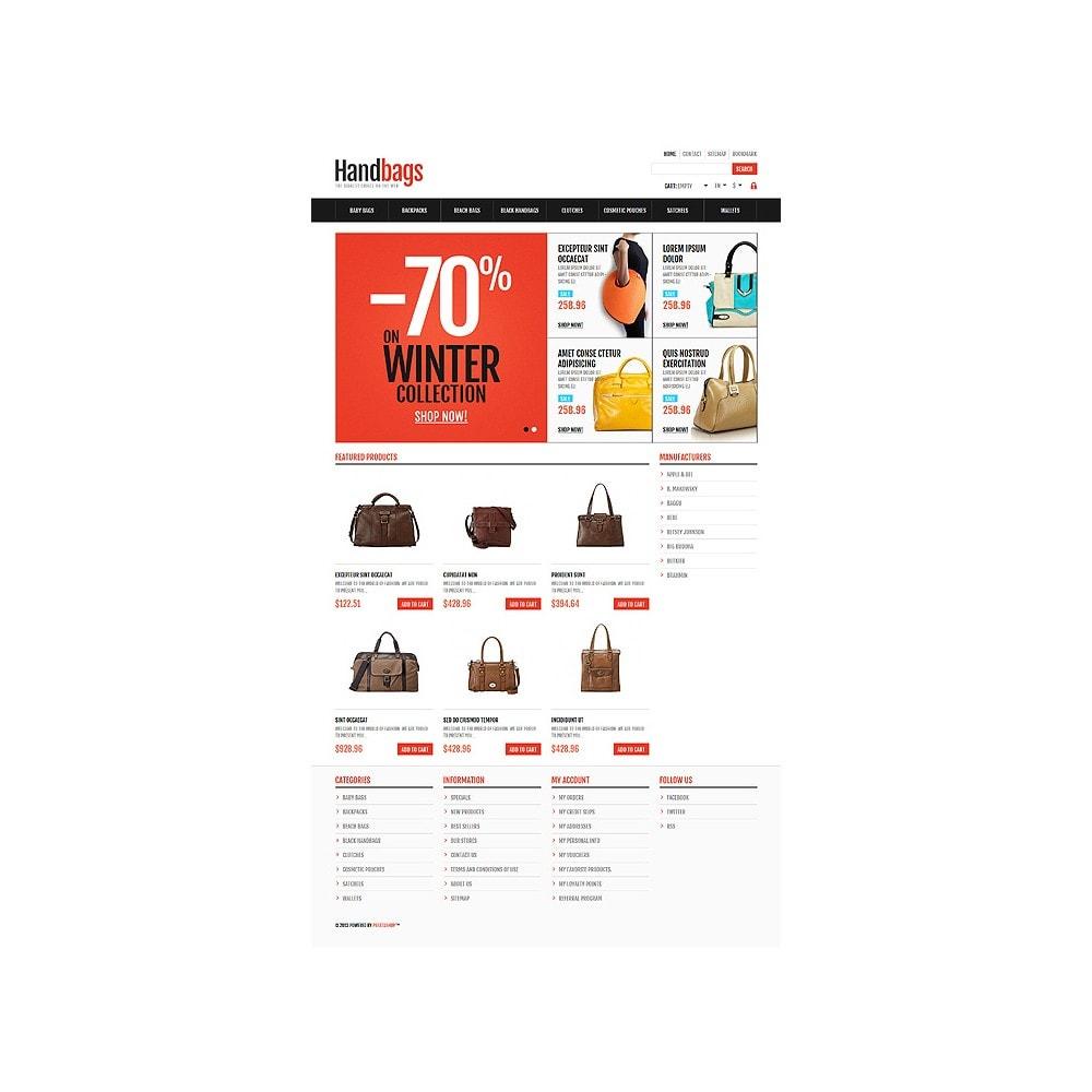 theme - Moda & Calzature - Responsive Handbags Store - 11