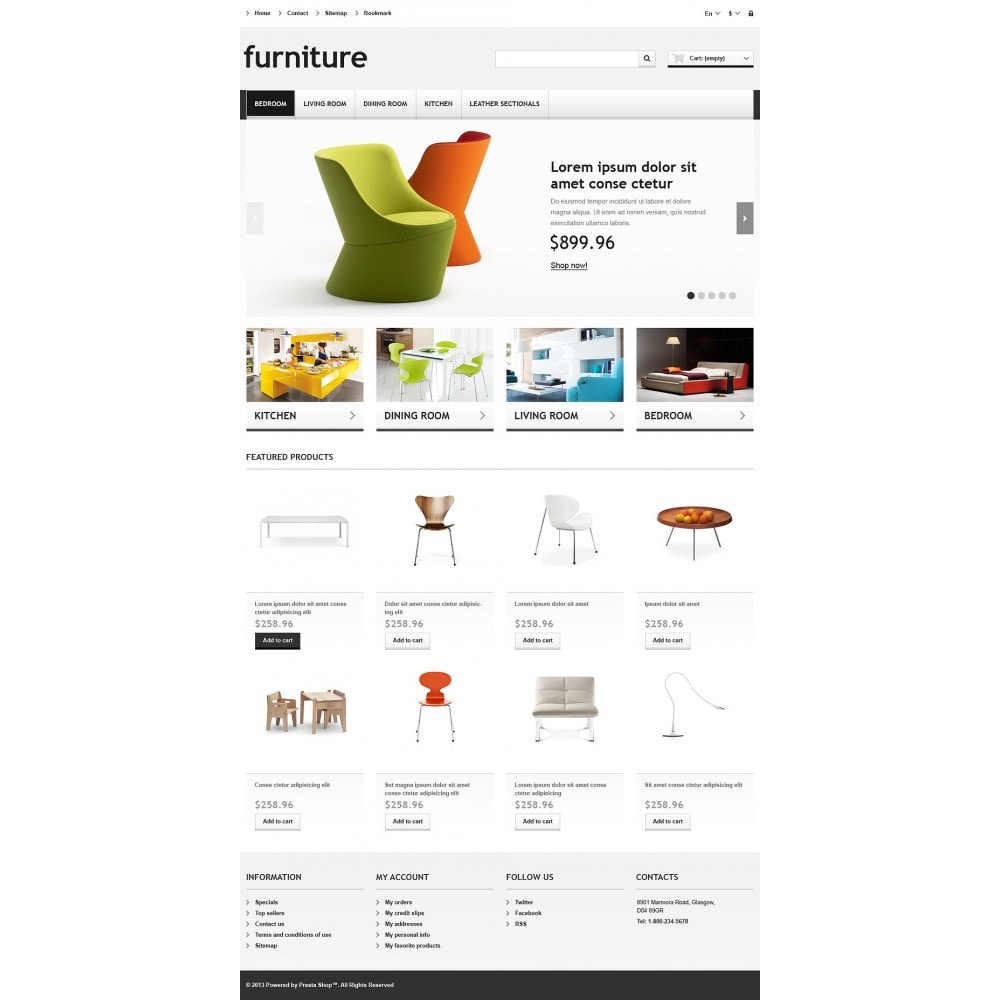 theme - Kultura & Sztuka - Responsive Furniture Store - 2