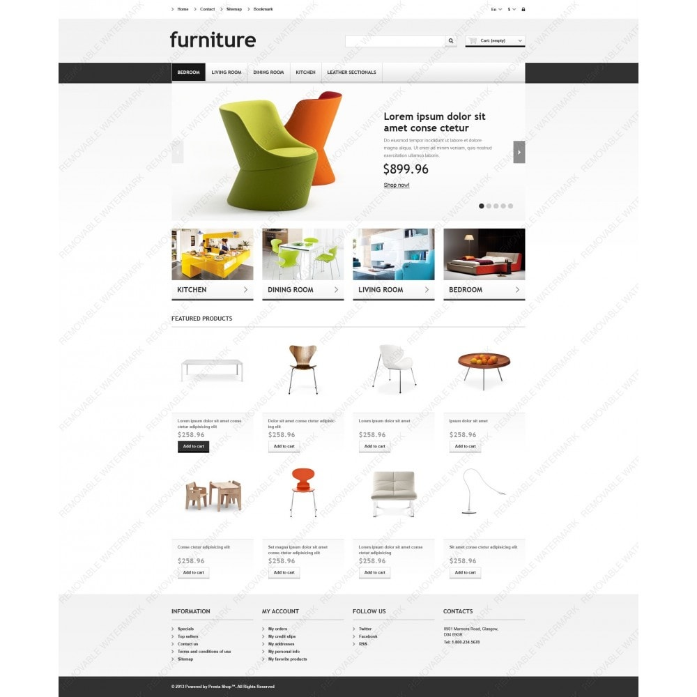 theme - Kultura & Sztuka - Responsive Furniture Store - 6