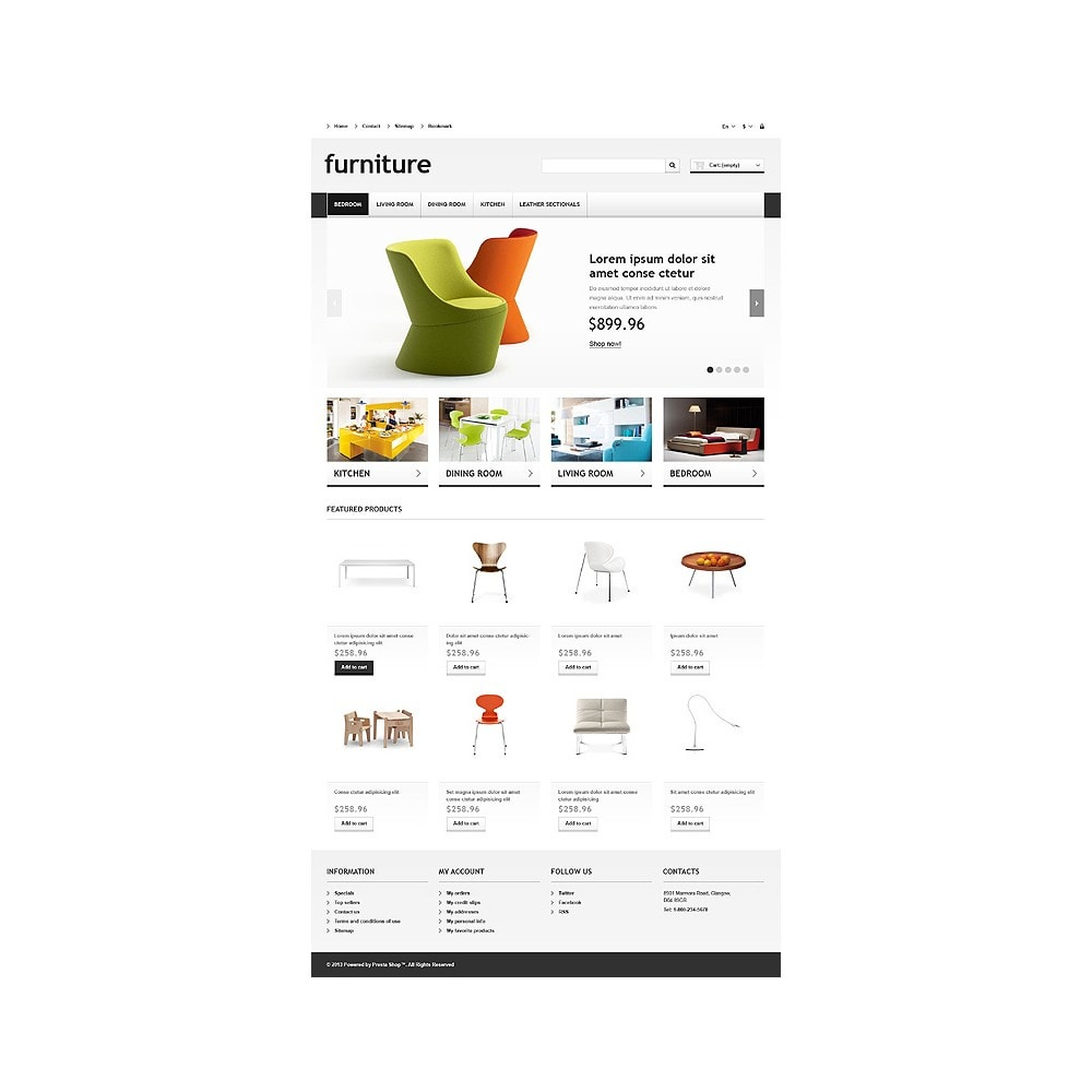 theme - Kunst & Cultuur - Responsive Furniture Store - 11