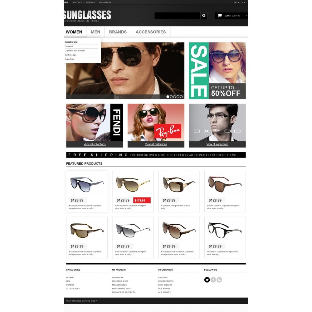 theme - Mode & Chaussures - Sunglasses Boutique - 2