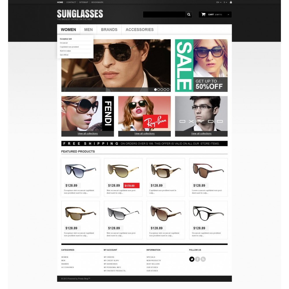 theme - Mode & Chaussures - Sunglasses Boutique - 5