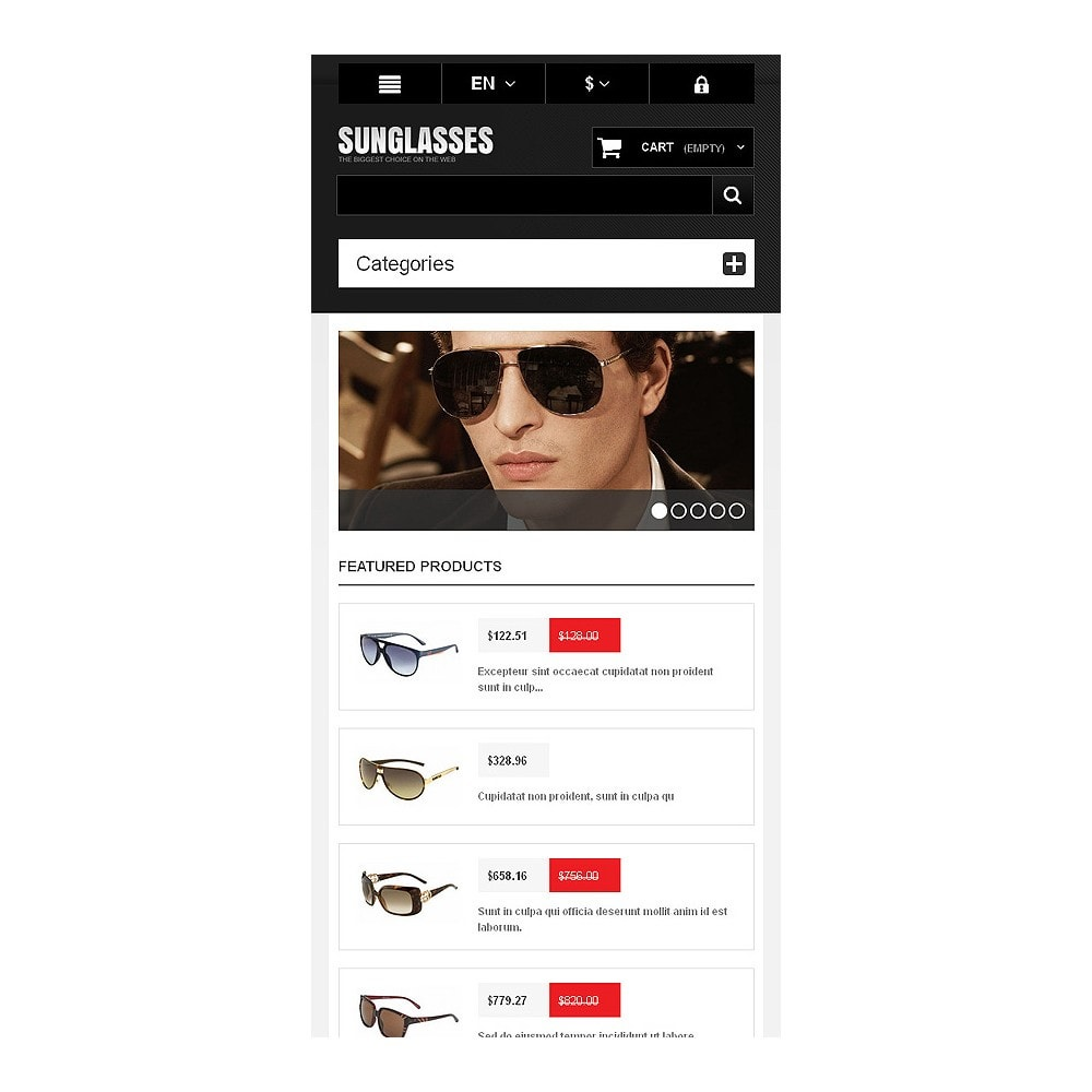 theme - Mode & Chaussures - Sunglasses Boutique - 9