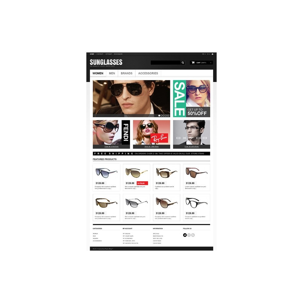 theme - Mode & Chaussures - Sunglasses Boutique - 11