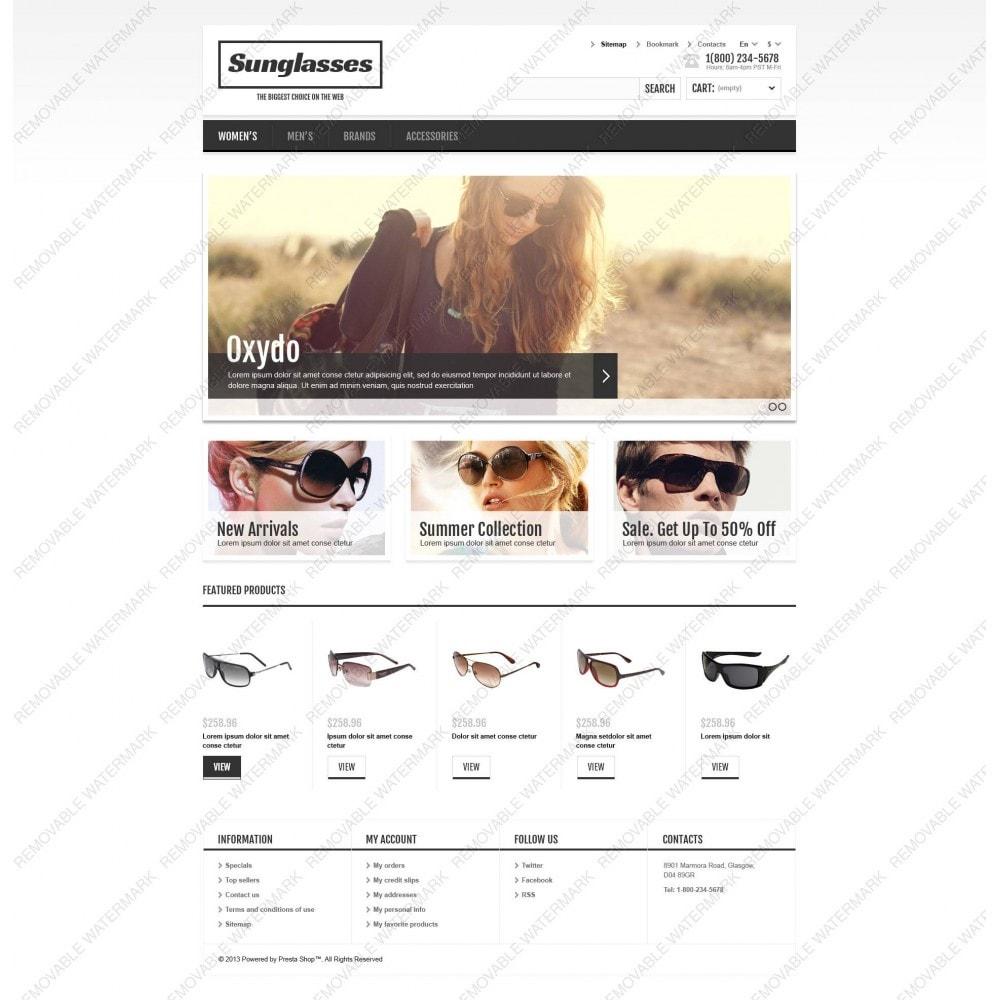 theme - Moda & Calzature - Responsive Sunglasses Store - 6