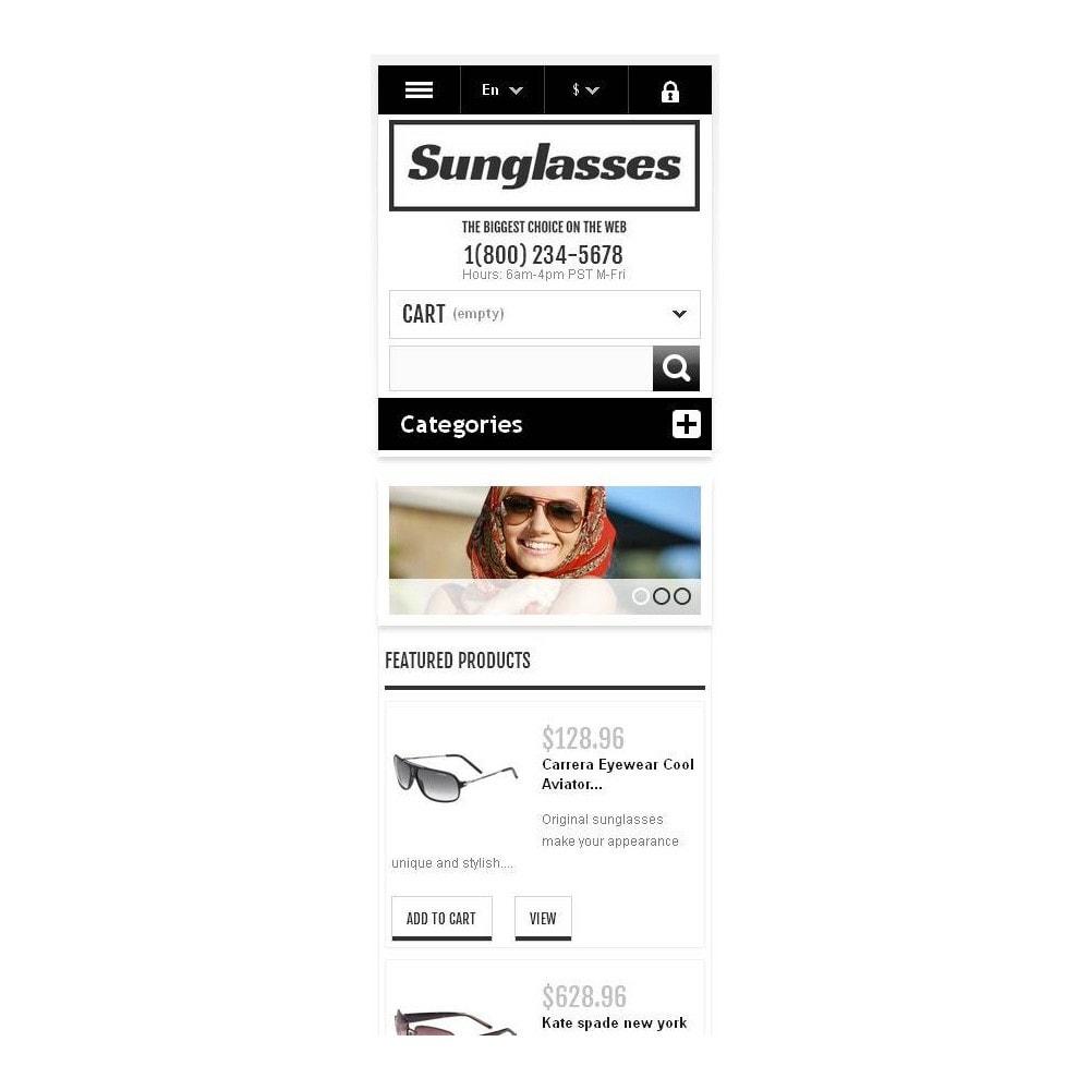theme - Moda & Calzature - Responsive Sunglasses Store - 10