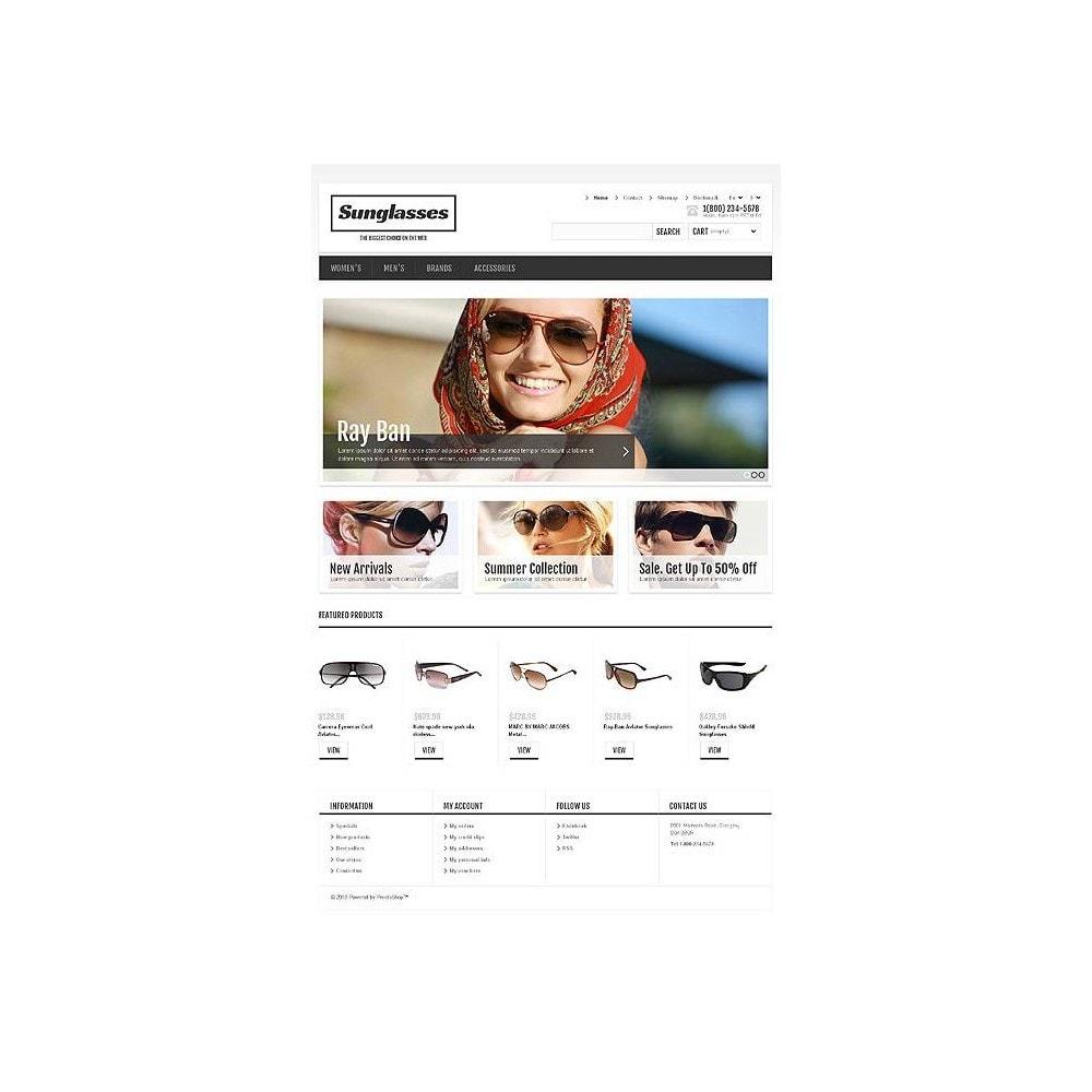 theme - Moda & Calzature - Responsive Sunglasses Store - 11