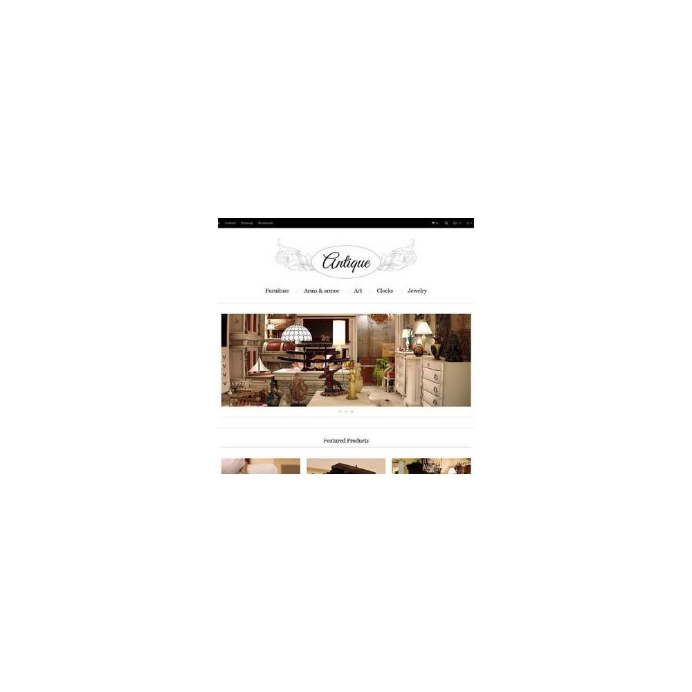 theme - Casa & Jardins - Responsive Antiques Store - 3