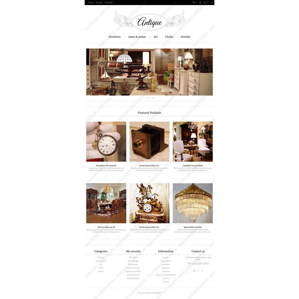 theme - Casa & Jardins - Responsive Antiques Store - 4