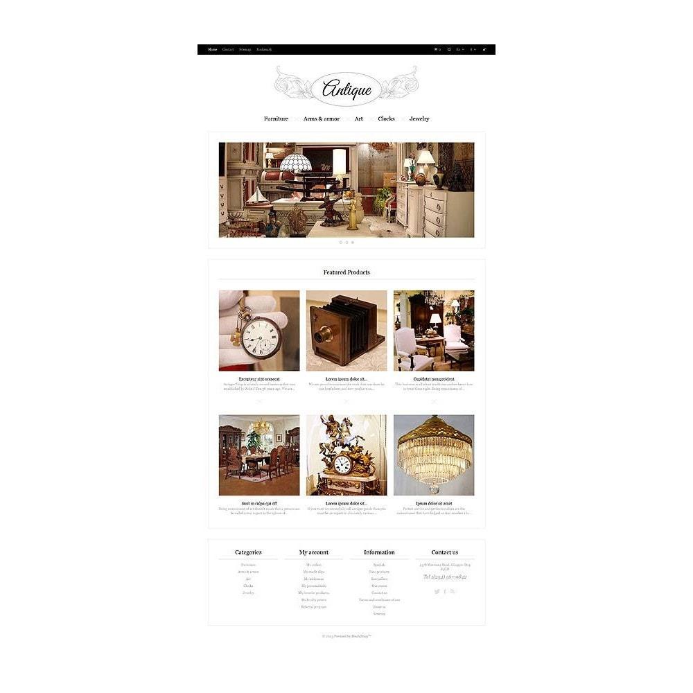 theme - Casa & Jardins - Responsive Antiques Store - 11