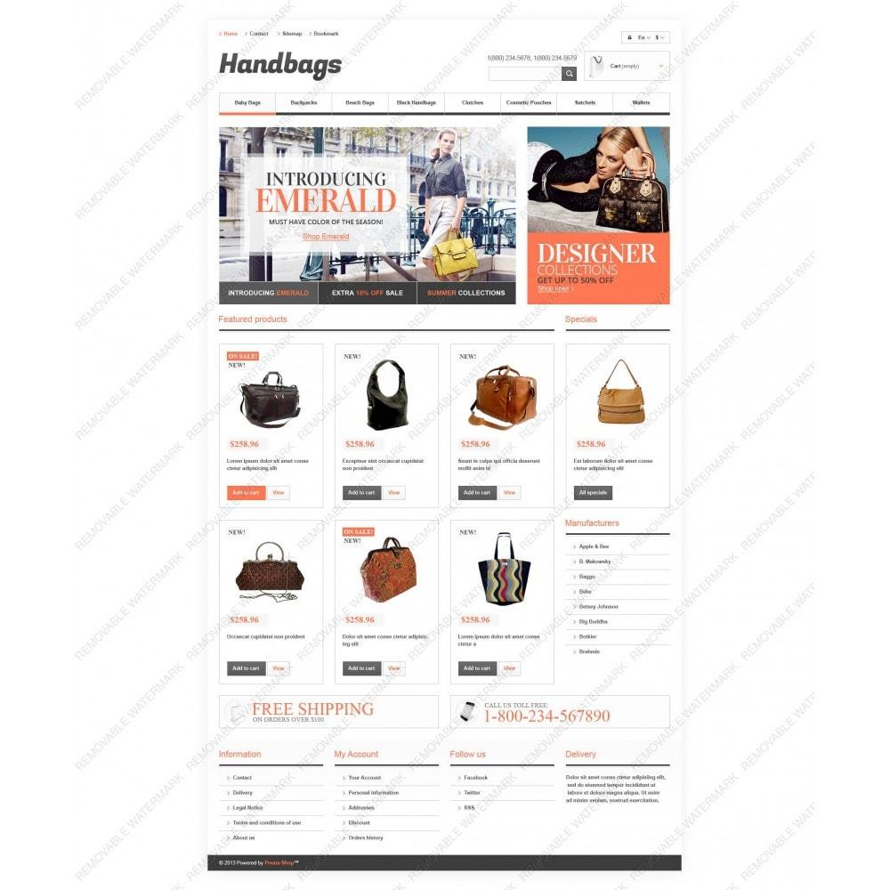 theme - Мода и обувь - Responsive Handbags Boutique - 5