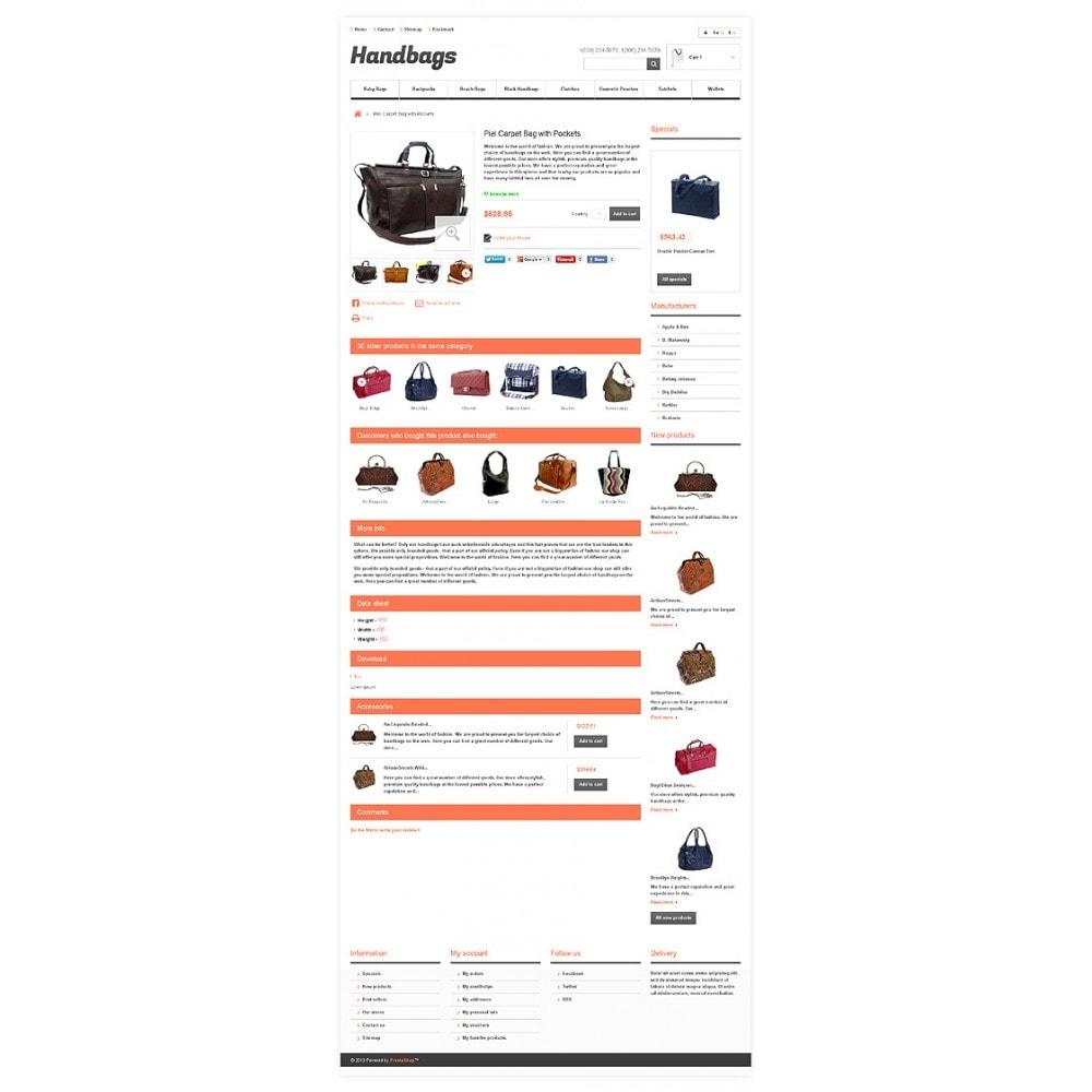 theme - Мода и обувь - Responsive Handbags Boutique - 6