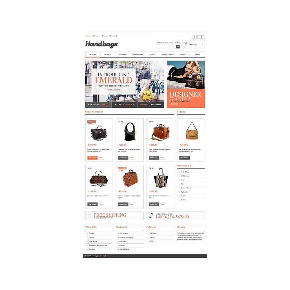 theme - Mode & Schoenen - Responsive Handbags Boutique - 10