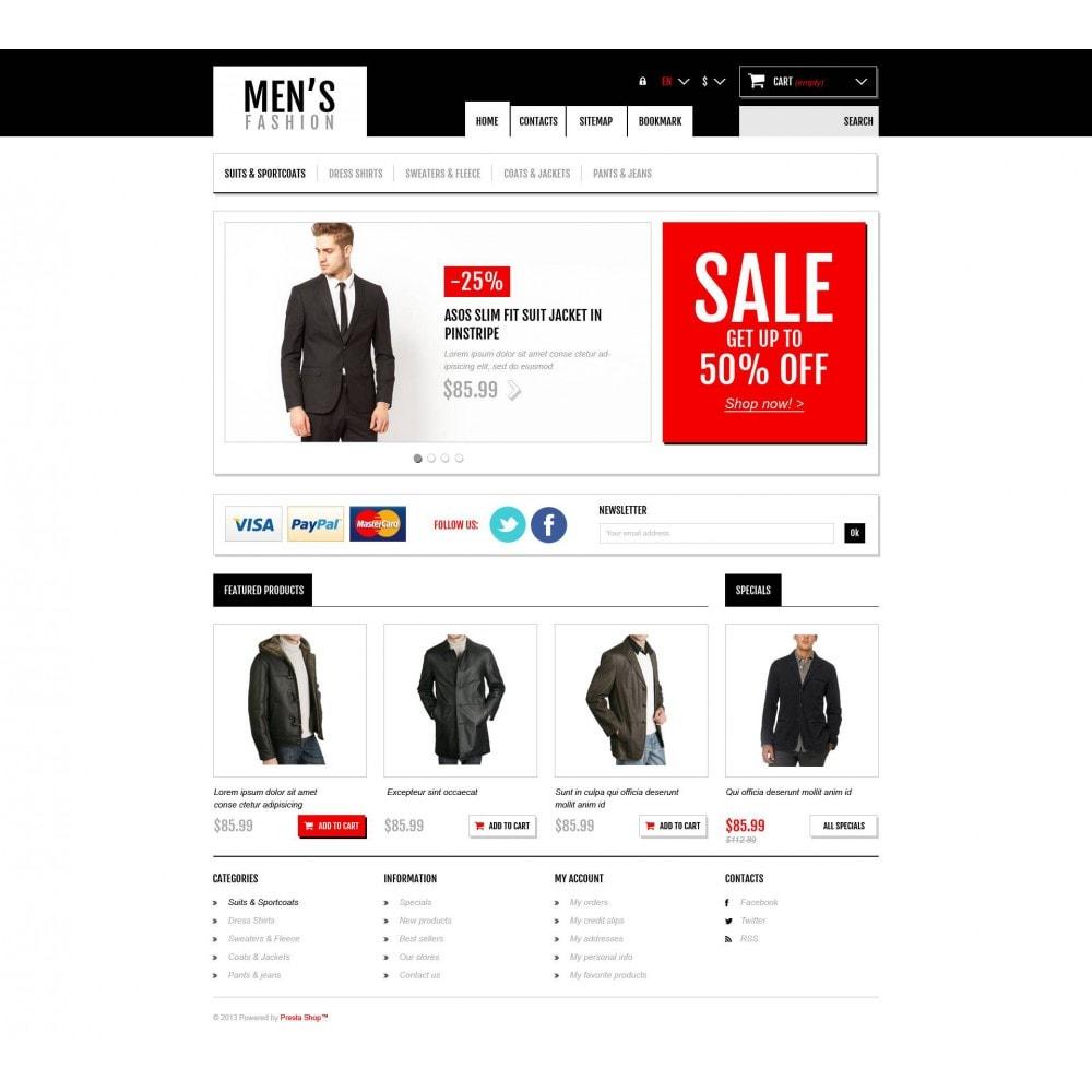 theme - Мода и обувь - Men's Fashion Boutique - 4