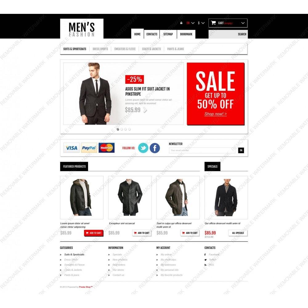 theme - Мода и обувь - Men's Fashion Boutique - 5