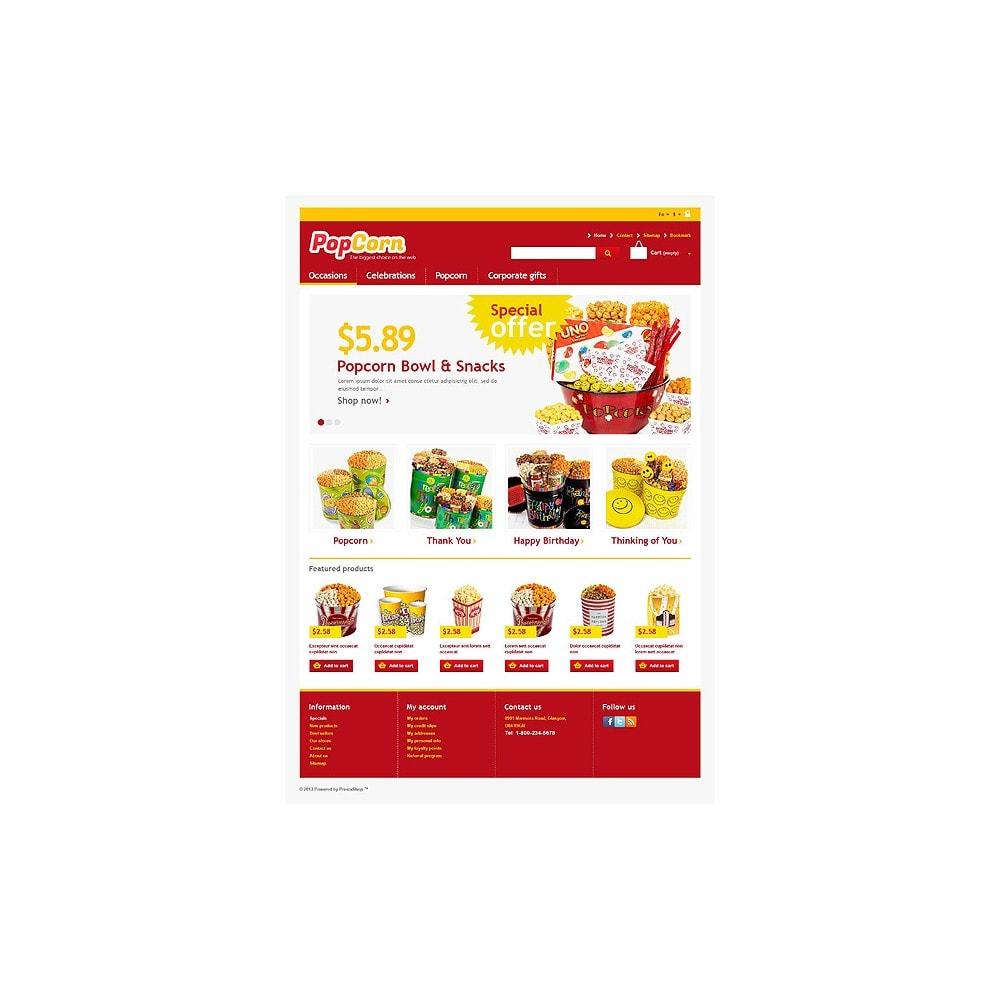 theme - Eten & Restaurant - Responsive Pop Corn Store - 1