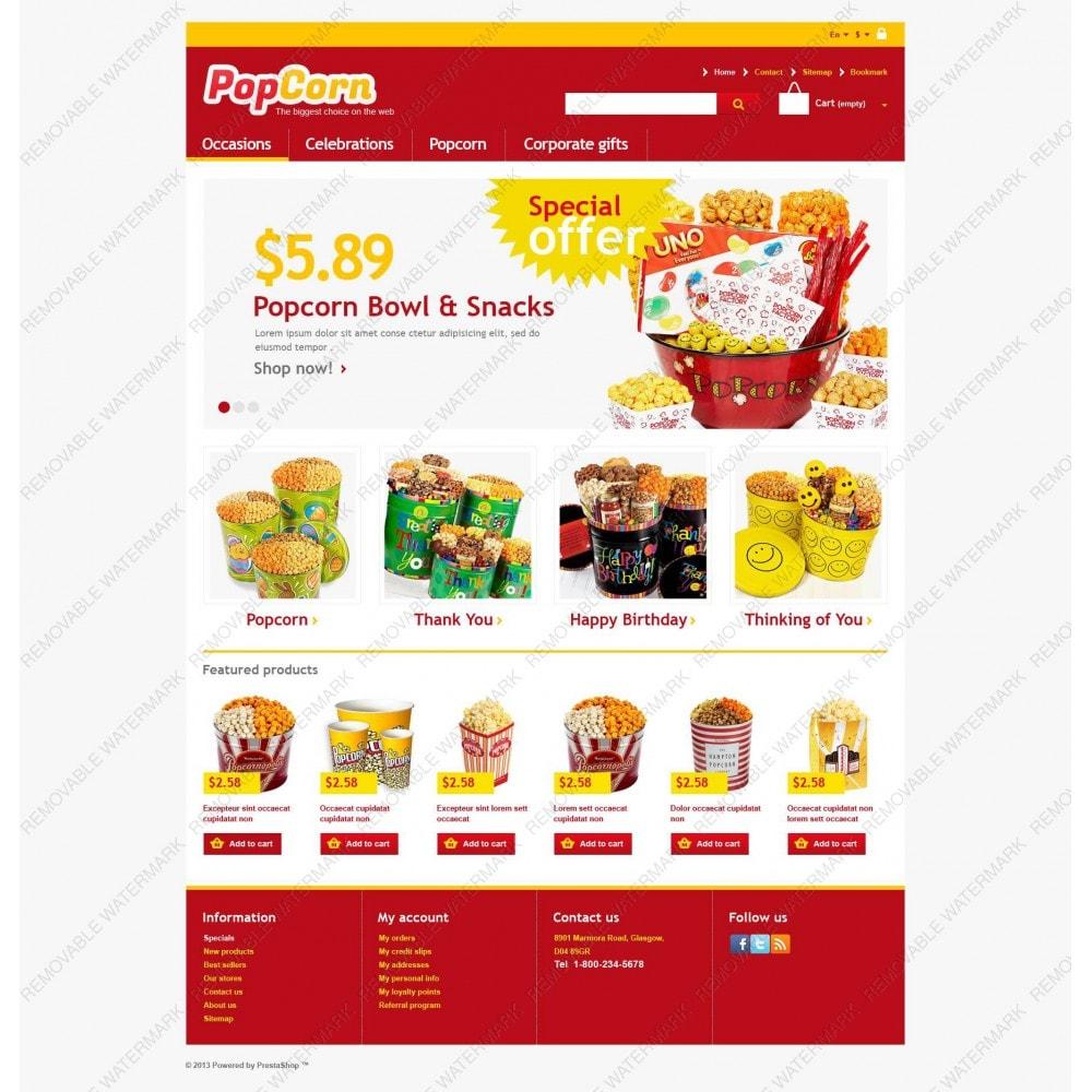 theme - Eten & Restaurant - Responsive Pop Corn Store - 3