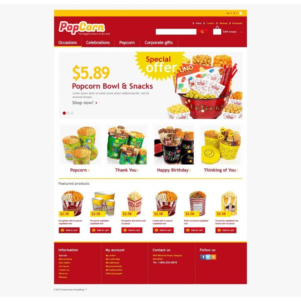 theme - Eten & Restaurant - Responsive Pop Corn Store - 4