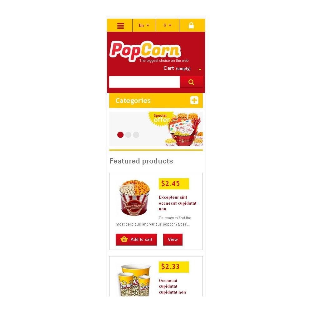 theme - Eten & Restaurant - Responsive Pop Corn Store - 6