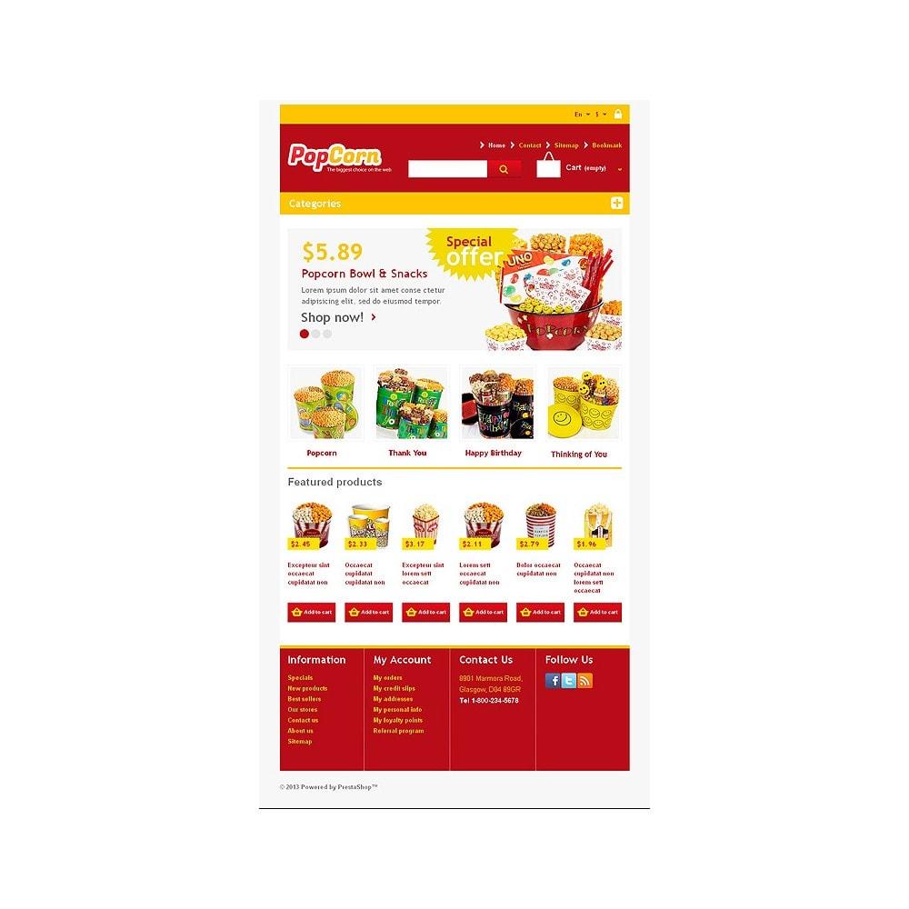 theme - Eten & Restaurant - Responsive Pop Corn Store - 8