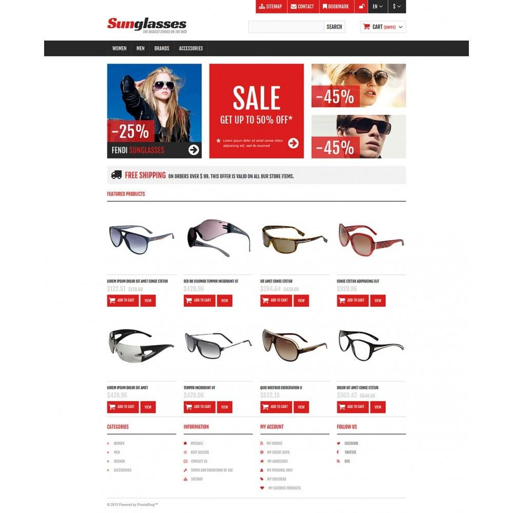 theme - Moda & Calçados - Responsive Sunglasses Store - 2