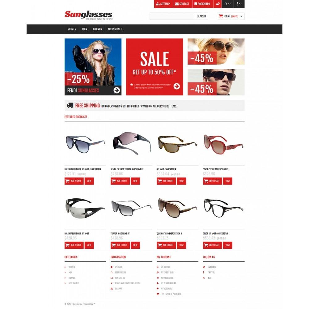 theme - Moda & Calçados - Responsive Sunglasses Store - 4
