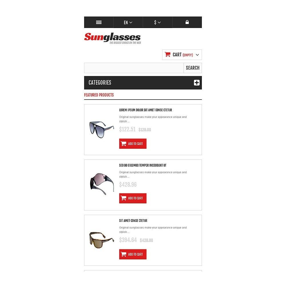 theme - Moda & Calçados - Responsive Sunglasses Store - 8