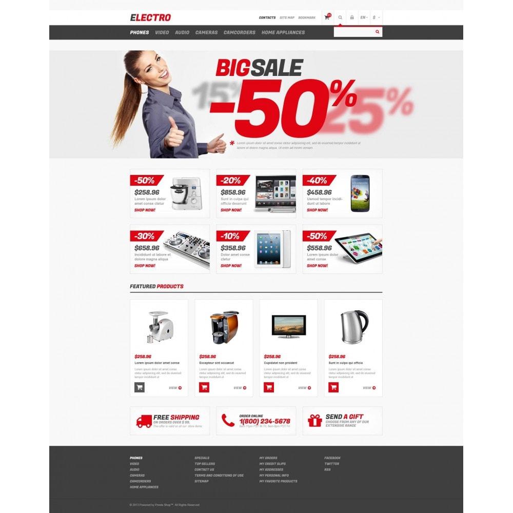 theme - Electrónica e High Tech - Responsive Electro Store - 4