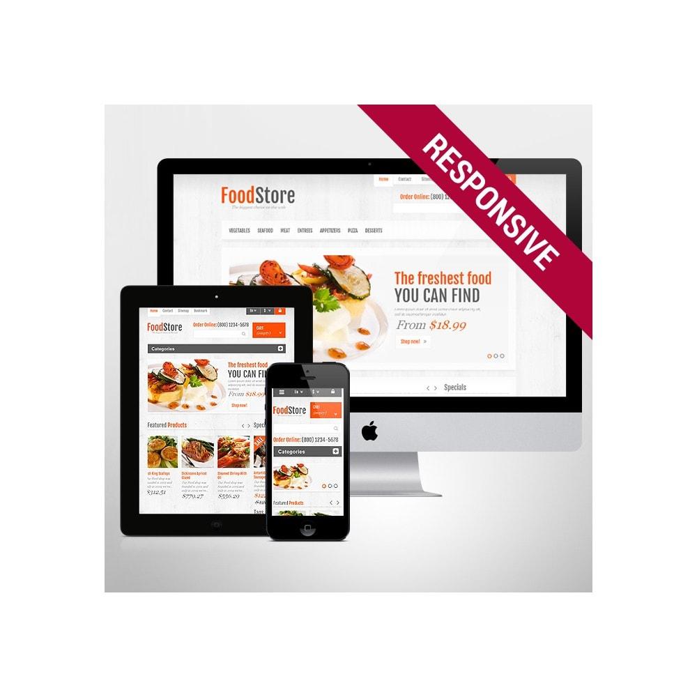theme - Alimentos & Restaurantes - Responsive Food Store - 1