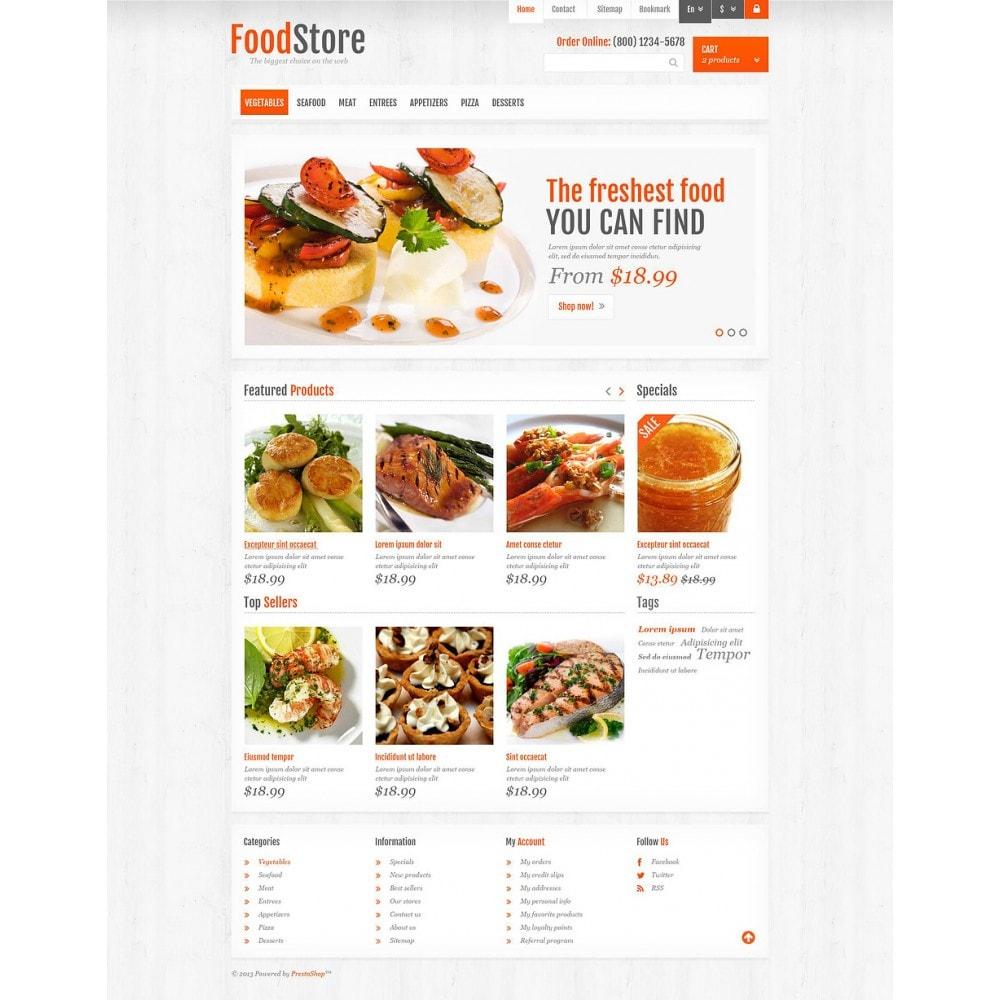 theme - Alimentos & Restaurantes - Responsive Food Store - 2