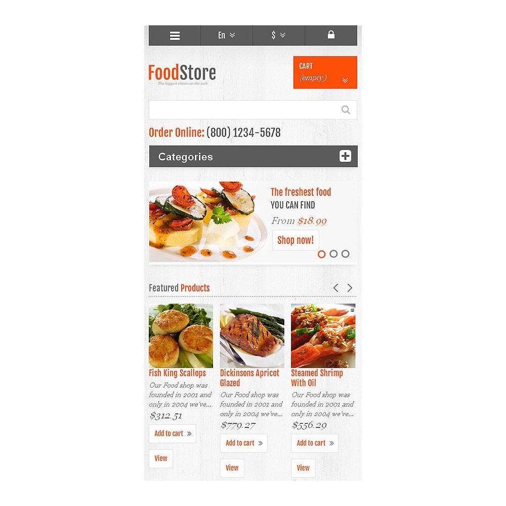 theme - Alimentos & Restaurantes - Responsive Food Store - 8