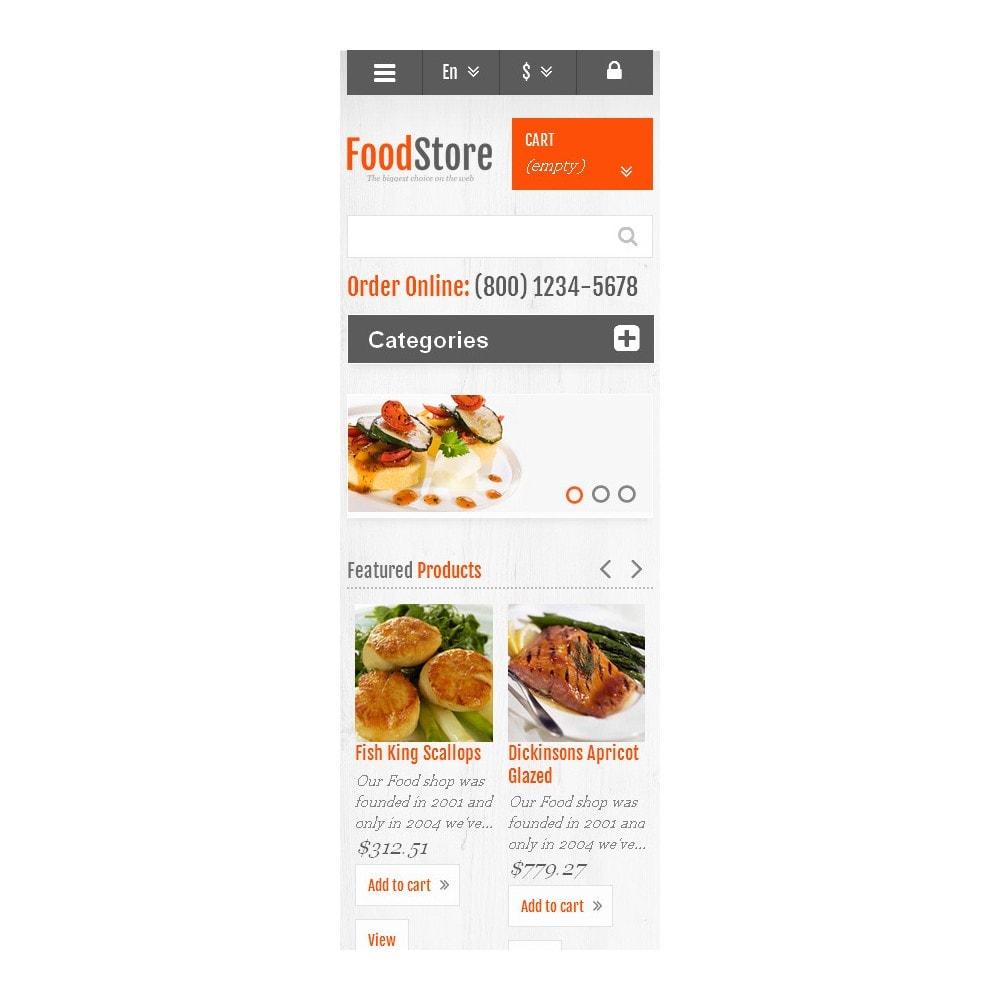 theme - Alimentos & Restaurantes - Responsive Food Store - 9