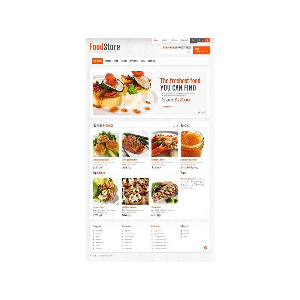 theme - Alimentos & Restaurantes - Responsive Food Store - 10