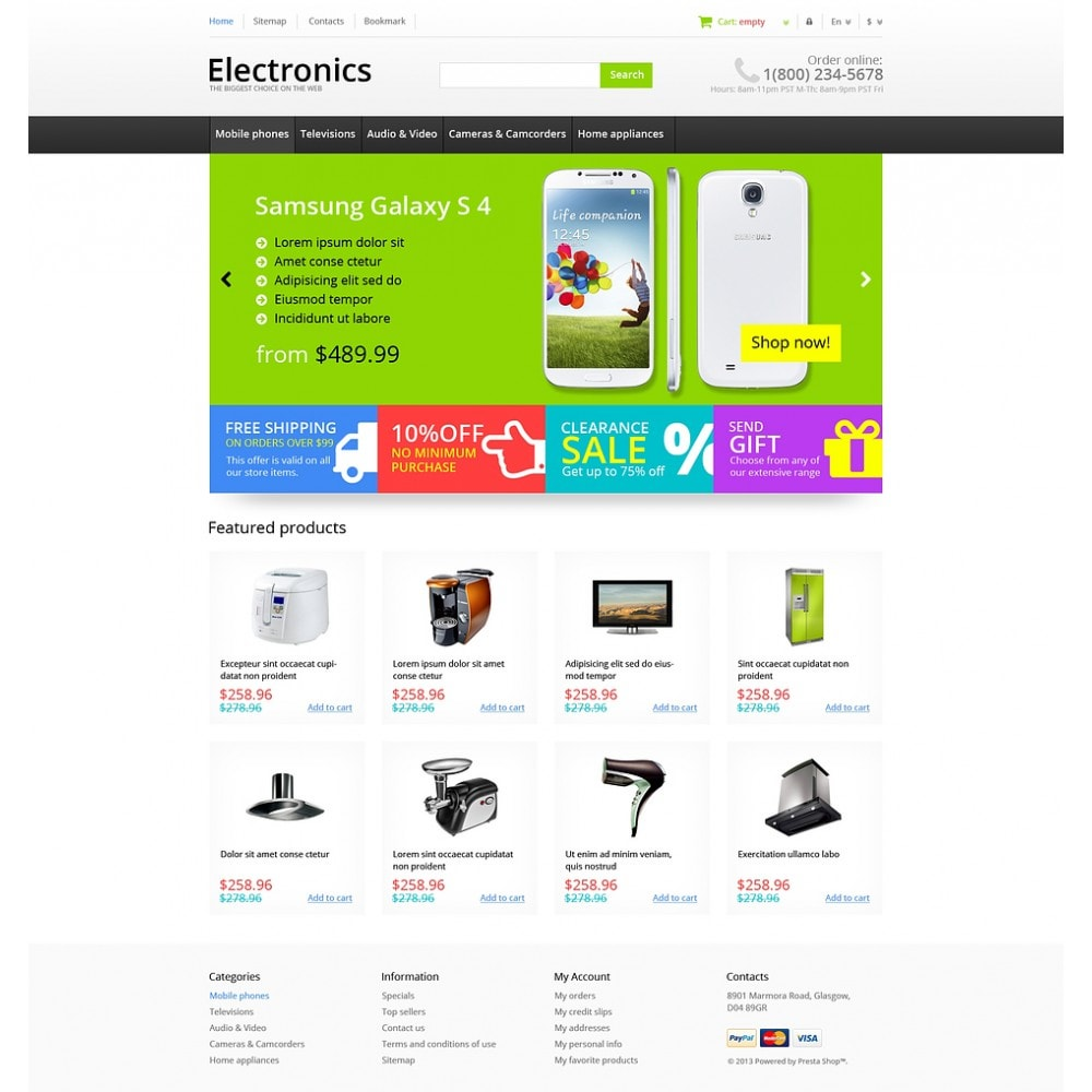 theme - Elettronica & High Tech - Responsive Electronics Store - 2