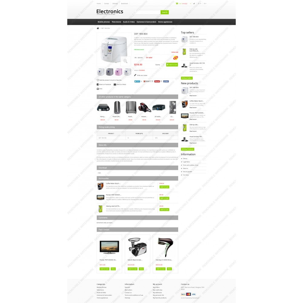 theme - Elettronica & High Tech - Responsive Electronics Store - 3