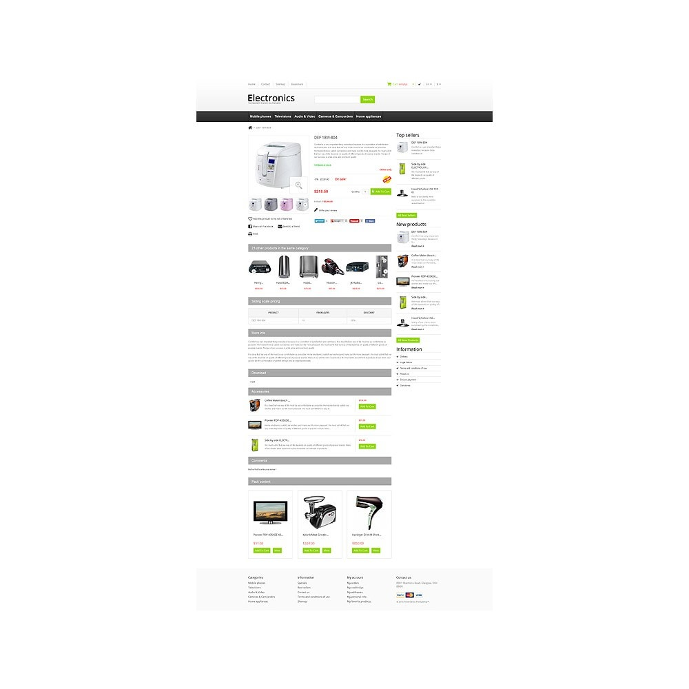 theme - Elettronica & High Tech - Responsive Electronics Store - 7