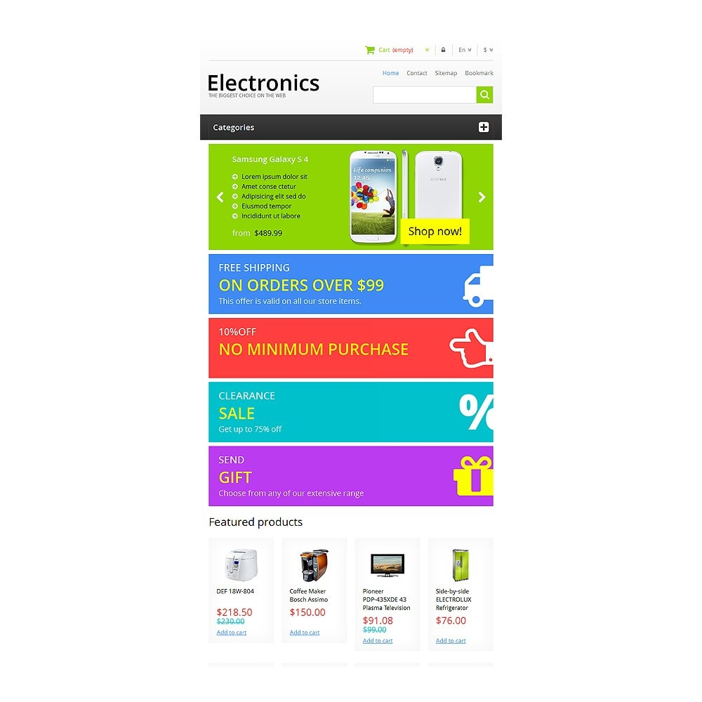 theme - Elettronica & High Tech - Responsive Electronics Store - 8