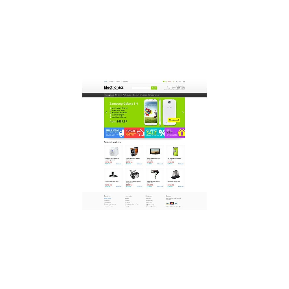theme - Elettronica & High Tech - Responsive Electronics Store - 11