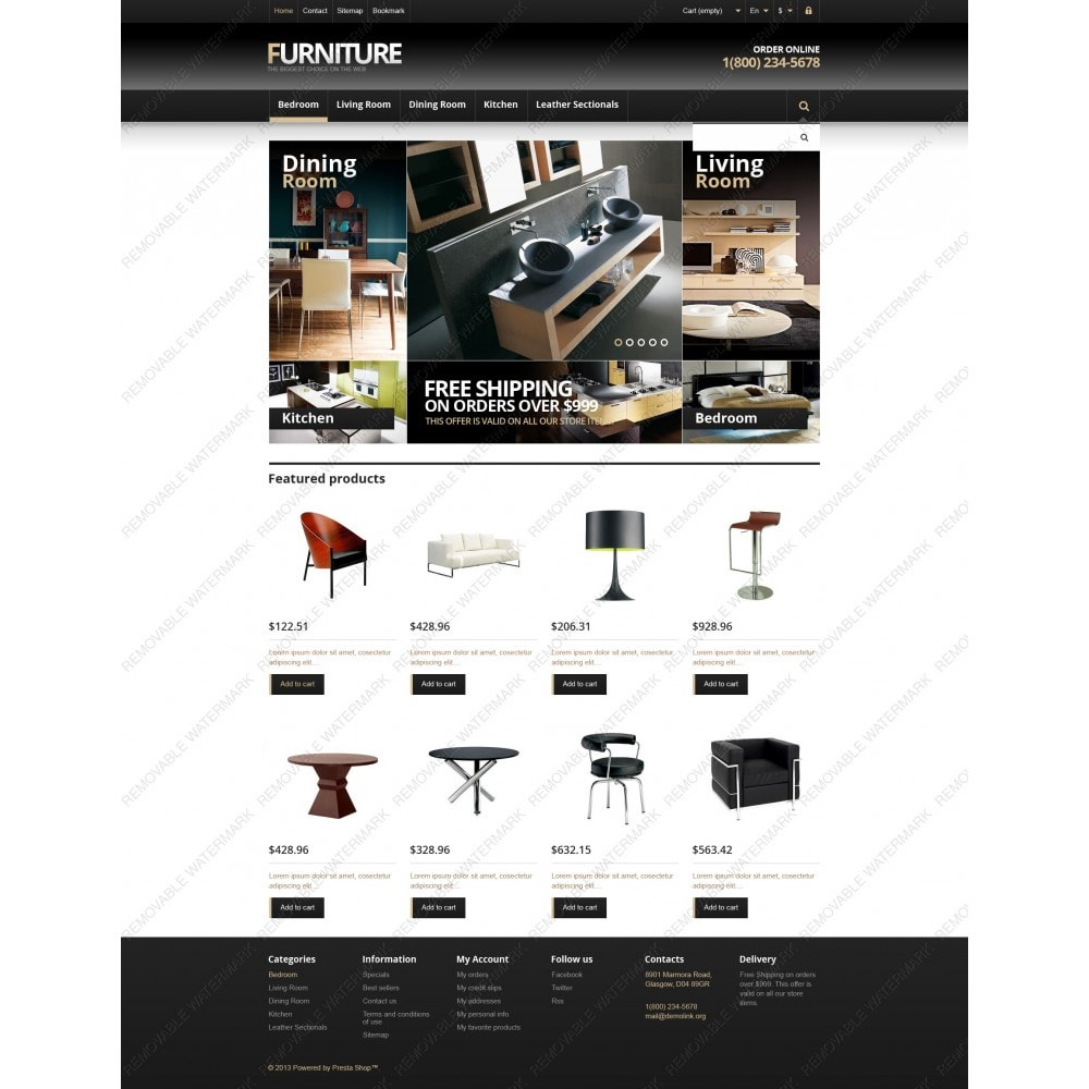 theme - Art & Culture - Responsive Furniture Store - 6