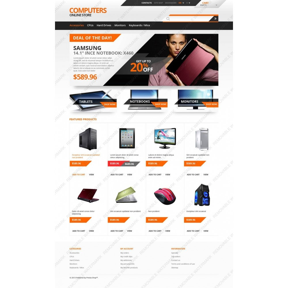theme - Electronics & Computers - Responsive Computers Store - 3