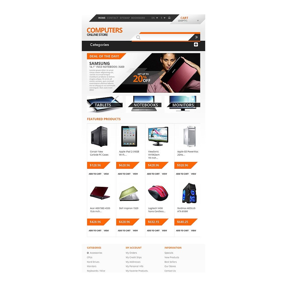 theme - Electronics & Computers - Responsive Computers Store - 7