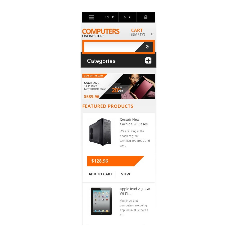 theme - Electronics & Computers - Responsive Computers Store - 9